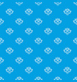 original style pattern seamless blue vector image vector image
