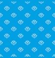 original style pattern seamless blue vector image