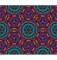 seamless colorful Geometric print vector image vector image