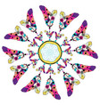 stylized dream catcher vector image vector image