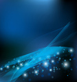 blue abstract background EPS 10 vector image