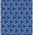 Blue abstract seamless pattern with interweave vector image vector image