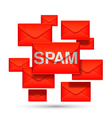 Email spam concept vector image vector image