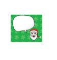 Santa icon vector image vector image