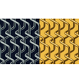 Chainlink pattern vector image