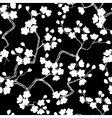 Cherry blossoms seamless pattern vector image vector image