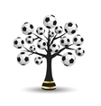 Football tree vector | Price: 1 Credit (USD $1)