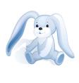 Plush bunny vector image