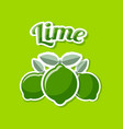 retro lime on pale green background vector image vector image