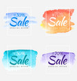 sale final up to 70 off sign over art brush vector image vector image