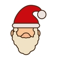 santa claus christmas character isolated icon vector image vector image
