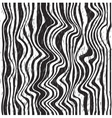 Abstract zebra pattern vector image