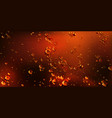 air bubbles cola soda drink or beer texture vector image vector image