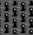 death halloween costume pattern vector image