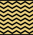 gold glittering chevron wave seamless pattern vector image vector image