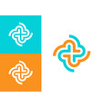 modern professional icon cross in pharmacy vector image