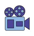 cinema film movie vector image vector image