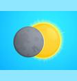 eclipce vector image vector image