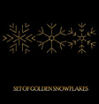 elegant christmas background with shining gold vector image vector image