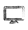 Modern Tv technology vector image vector image