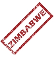 New Zimbabwe rubber stamp vector image vector image