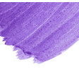 purple abstract watercolor background with space vector image