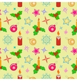 Seamless christmas pattern Winter holiday New vector image vector image