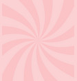 simple sweet candy pink swirl background vector image