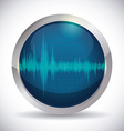 Sound design vector image