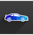 automobile icon car vehicle automotive vector image vector image