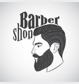 barber32 vector image vector image