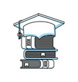 books education line icon vector image