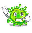 call me virus cells bacteria microbe isolated vector image vector image