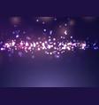 christmas bokeh lights design vector image vector image