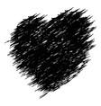 crayon valentine17 010 vector image