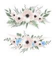 flower set set floral elements for your vector image