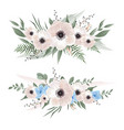 flower set set of floral elements for your vector image