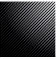 Metal dark striped background vector image