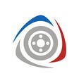 racing-logo vector image vector image