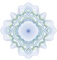rozetka 4 blue green2 vector image vector image