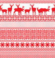 seamless patterns with the Lapland vector image vector image