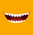 smile constructor cartoon smiley emoticon emoji vector image vector image