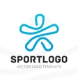Template sport logo vector image