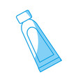 facial cream bottle icon vector image vector image