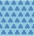 Hexagonsabstract geometric seamless pattern vector image vector image