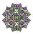 mandala flower 1 vector image