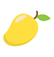mango flat icon fruit and tropical vector image vector image