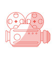 vintage video camera design vector image vector image