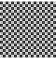 Korean seamless ornament pattern vector image