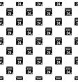 24 november calendar pattern simple style vector image